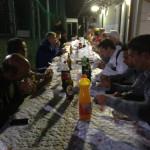 Dopo le fatiche si cena